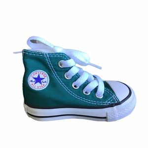 Converse Teal Sneakers Chucks All Star Infant 3
